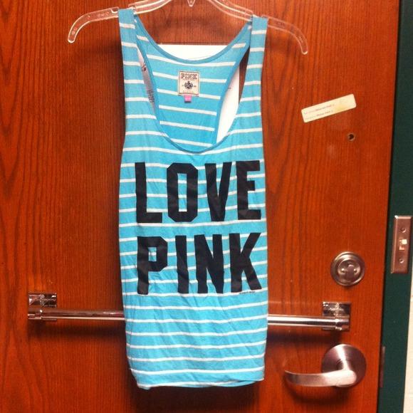 fe4bc0e3 Victoria's Secret Tops | Sold On Vinted Vs Pink Tank Top | Poshmark