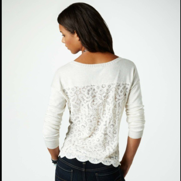 35% off American Eagle Outfitters Sweaters - American Eagle lace ...