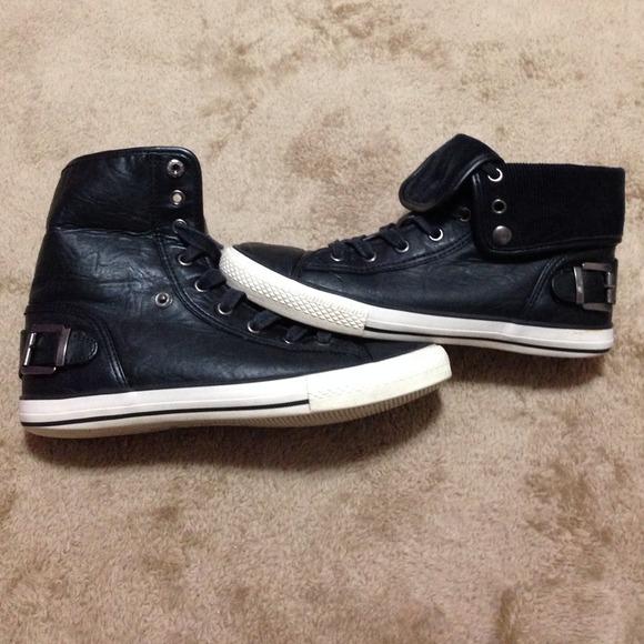 Aldo Shoes | Aldo Black High Tops
