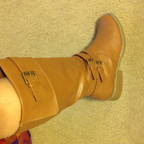 36% off Old Navy Boots - NEW Caramel color riding boots from ...