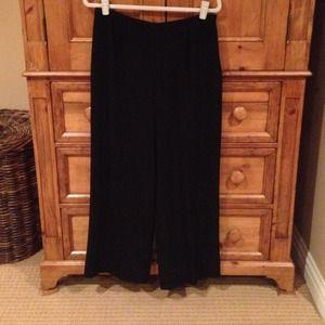Pants - Dressy trouser pants. Wide pant bottom.