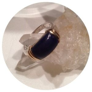 Jewelry - 🚫SOLD🚫Sterling Silver .925 Genuine Lapis Ring