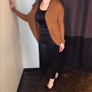 Camel colored Hi/low cardigan