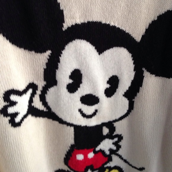 2 H&m Sweaters Cutesy Mickey