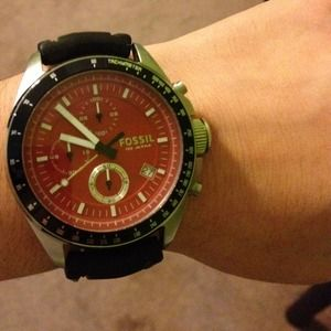 Fossil Watch- Silicone