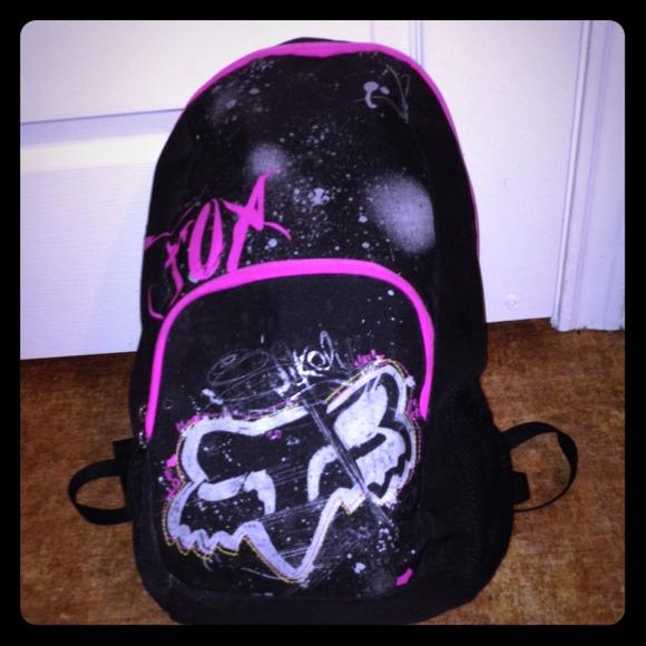 Fox Accessories Racing Girl Road Trip Backpack Poshmark