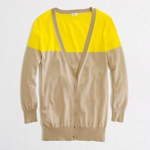 J crew light weight cardigan XS