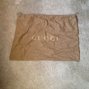 Large gucci dust bag