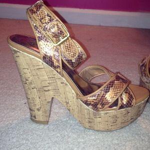 Baby Phat heels size 9.5 never worn. GREAT DEAL!!!