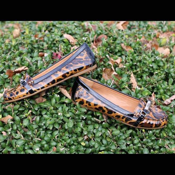 Coach Shoes - ⚡️Sale⚡️ Brand new Coach leopard print flats 2
