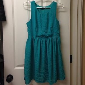 Forever 21 Dresses & Skirts - Aqua Dress