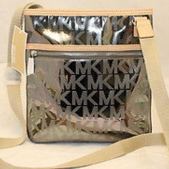 db6d74592206 Michael Kors Bags | Silver Mirror Metallic Crossbody | Poshmark