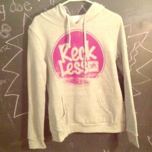 NWOT Young and reckless hoodie
