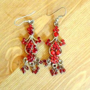 Jewelry - Red earrings