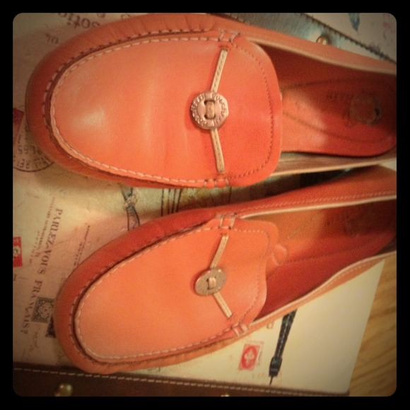 Cole Haan Shoes | Salmon Pink Loafers