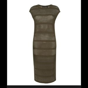 Final post!!!!!! All saints band dress Khaki US 4