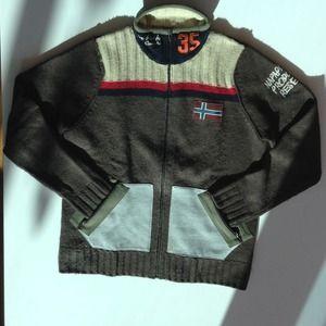 Napapijri Other - Men's Napapijri wool zip-up sweater