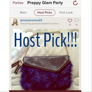 Henri Bendel  Handbags - 🎉HOST PICK 🎉Henri Bendel Faux Fur leather bag