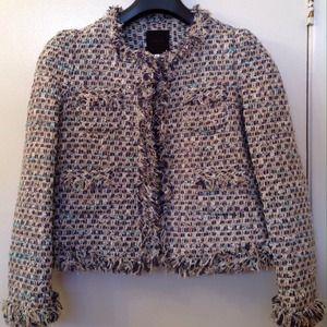 Jackets Coats Reduced Uniqueens Malang Tweed Jacket Poshmark