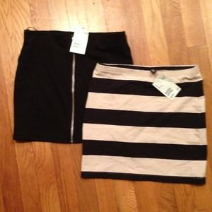 H&M Dresses & Skirts - Pack of two mini skirts