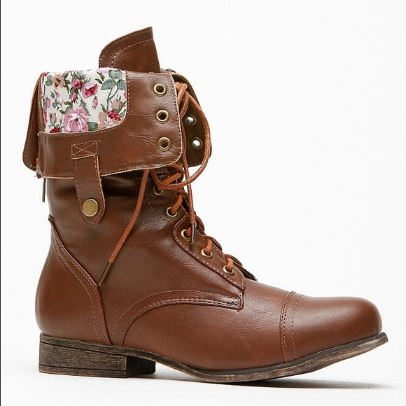 Combat Boots Brown - Cr Boot