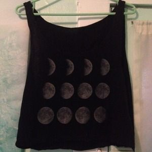 Brandy Melville moon phase top