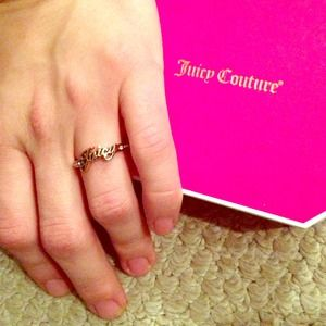 Authentic Juicy Couture Ring