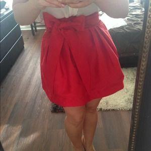 GORGEOUS!!!!Red ASOS skirt!!!!