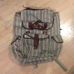 Urban outfitters pattern backpack