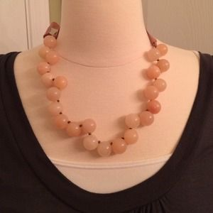 Host Pick J.Crew beaded light pink necklace