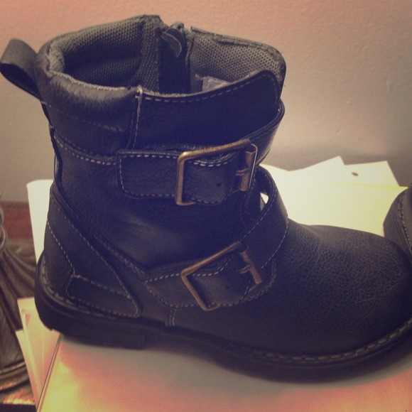 68% off Ruum Other - Toddler boys combat boots from Leah's closet ...
