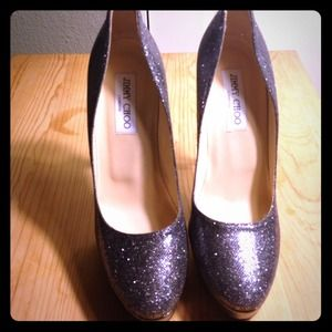 REDUCEDJimmy Choo glitter pumps