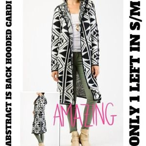 ⚡FLASH SALE⚡EXTRA LONG DUSTER HOODED CARDI IN S/M!