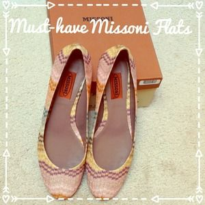 Missoni Shoes - ✂ANOTHER PriceCut✂BRAND NEW MISSONI FLATS