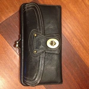 COACH Black Legacy Wallet