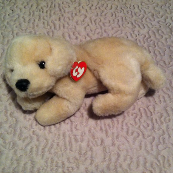 Other Rare Ty Beanie Baby Large Muffin The Dog Poshmark