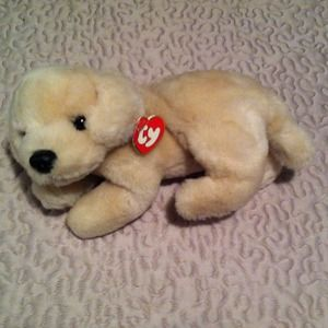 b05d73133c0 RARE Ty Beanie Baby (Large) Muffin the Dog ...