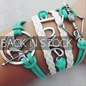 Jewelry - 🆕B027 Hunger Games Mockingjay Bracelet
