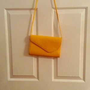 Accessories - Vintage Yellow Envelope Purse
