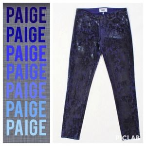 Paige Jeans Denim - Paige Coated Skinny Jeans