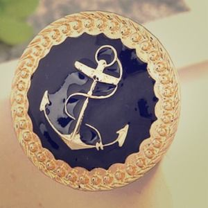 Cutest Anchor Ring ever