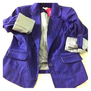 Royal blue A'gaci blazer