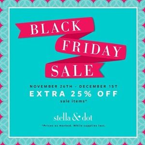 Stella & Dot Sale!!