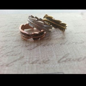 ♥ Trio Leaf Rings♥