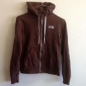 North Face Jackets & Blazers - North Face Brown Hoodie Jacket