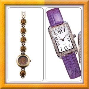 Tiger Eye/Snake Strap Watch! Each $15.00