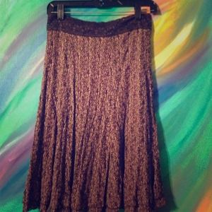 Beautiful chocolate mauve skirt