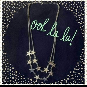 Double strand star necklace!
