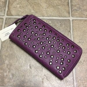 Clutches & Wallets - Vegan Stud Wallet