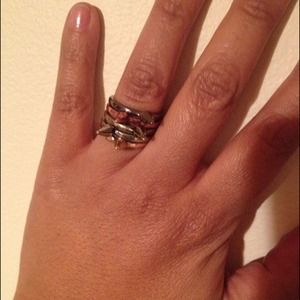 Brass Plum Nordstrom Jewelry - NEW Nordstrom BP Spike Stackable Rings